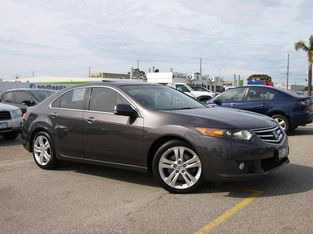 Used Honda Accord Euro CU Luxury Cheltenham, 2008 Honda Accord Euro CU Luxury Grey 5 Speed Automatic Sedan