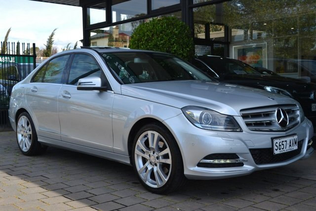 Used Mercedes-Benz C-Class W204 MY13 C250 7G-Tronic + Avantgarde, 2013 Mercedes-Benz C-Class W204 MY13 C250 7G-Tronic + Avantgarde Silver 7 Speed Sports Automatic