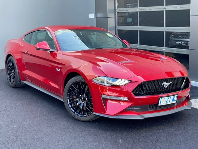Used Ford Mustang FN 2020MY GT, 2019 Ford Mustang FN 2020MY GT Red 10 Speed Sports Automatic Fastback