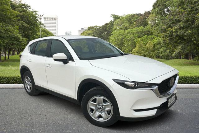Demo Mazda CX-5 KF2W7A Maxx SKYACTIV-Drive FWD, 2020 Mazda CX-5 KF2W7A Maxx SKYACTIV-Drive FWD White Pearl 6 Speed Sports Automatic Wagon