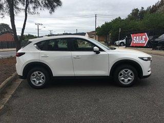 2020 Mazda CX-5 KF4WLA Maxx SKYACTIV-Drive i-ACTIV AWD White Pearl 6 Speed Sports Automatic Wagon.