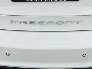 2014 Fiat Freemont JF Base White 6 Speed Automatic Wagon