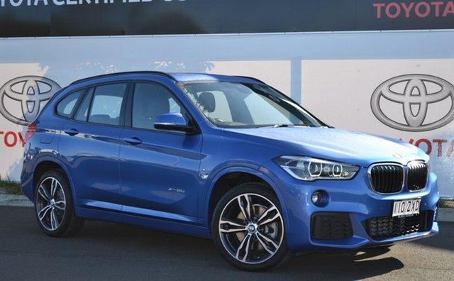 Used BMW X1 F48 xDrive 20D, 2016 BMW X1 F48 xDrive 20D Blue 8 Speed Automatic Wagon
