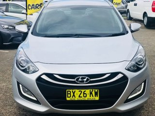 2013 Hyundai i30 GD Elite Tourer Silver 6 Speed Sports Automatic Wagon