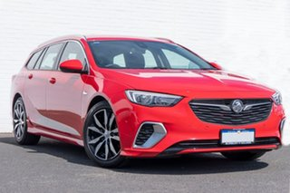 2017 Holden Commodore ZB MY18 RS Sportwagon Red 9 Speed Sports Automatic Wagon