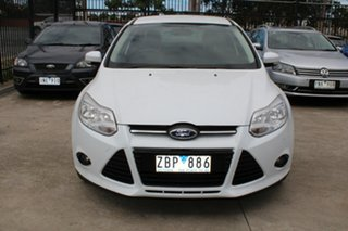 2012 Ford Focus LW Trend White 6 Speed Automatic Sedan.