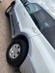 2005 Mitsubishi Pajero NP MY06 GLS White 5 Speed Sports Automatic Wagon