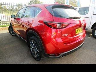 2019 Mazda CX-5 MY19 (KF Series 2) Akera (4x4) Red 6 Speed Automatic Wagon.