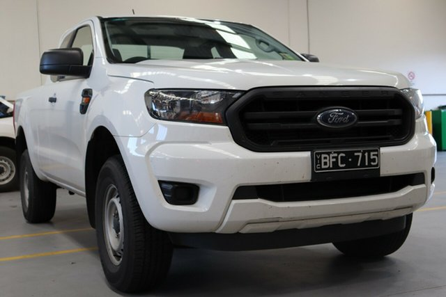 Used Ford Ranger PX MkIII 2019.00MY XL, 2018 Ford Ranger PX MkIII 2019.00MY XL Cool White 6 Speed Sports Automatic Cab Chassis