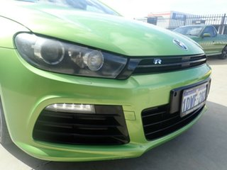 2012 Volkswagen Scirocco 1S MY13 R Coupe DSG Green Metallic 6 Speed Sports Automatic Dual Clutch.