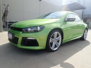 2012 Volkswagen Scirocco 1S MY13 R Coupe DSG Green Metallic 6 Speed Sports Automatic Dual Clutch