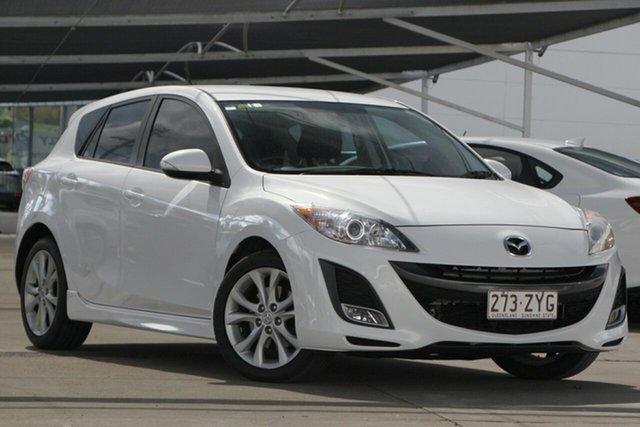 Used Mazda 3 BL10L1 MY10 SP25 Activematic, 2011 Mazda 3 BL10L1 MY10 SP25 Activematic White 5 Speed Sports Automatic Hatchback