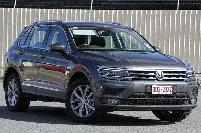 Demo Volkswagen Tiguan 5N MY20 132TSI DSG 4MOTION Comfortline, 2019 Volkswagen Tiguan 5N MY20 132TSI DSG 4MOTION Comfortline Indium Grey 7 Speed