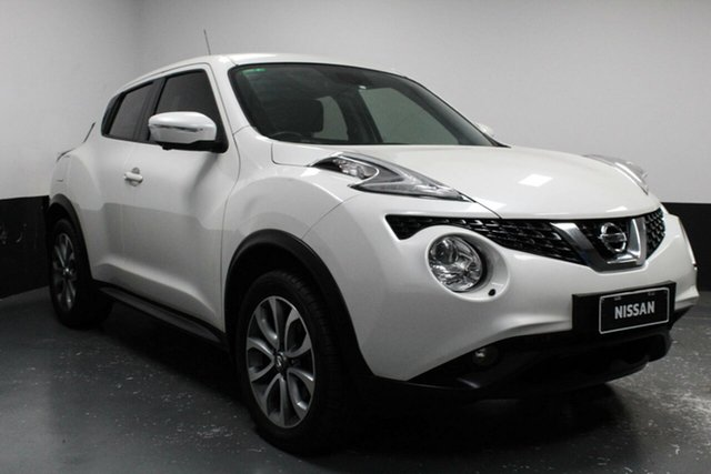 Used Nissan Juke F15 Series 2 Ti-S X-tronic AWD, 2017 Nissan Juke F15 Series 2 Ti-S X-tronic AWD Ivory Pearl 1 Speed Constant Variable Hatchback