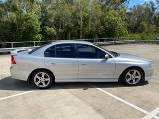 2006 Holden Commodore VZ MY06 SV6 Silver 5 Speed Auto Active Select Sedan.