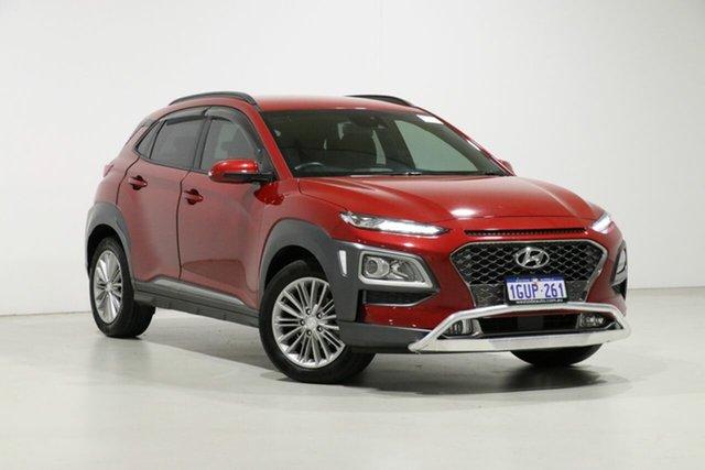 Used Hyundai Kona OS.2 MY19 Elite (FWD), 2019 Hyundai Kona OS.2 MY19 Elite (FWD) Red 6 Speed Automatic Wagon