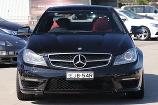 2011 Mercedes-Benz C-Class C204 MY12 C63 AMG SPEEDSHIFT MCT Black 7 Speed Sports Automatic Coupe