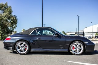 2004 Porsche 911 996 MY04 Carrera 4S AWD Cabriolet Grey 5 Speed Sports Automatic Convertible