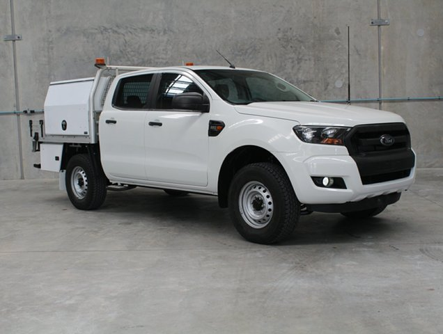 Used Ford Ranger PX MkII XL Hi-Rider, 2016 Ford Ranger PX MkII XL Hi-Rider White 6 speed Automatic Cab Chassis