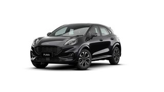 2020 Ford Puma JK 2020.75MY ST-Line Agate Black 7 Speed Sports Automatic Dual Clutch Wagon.