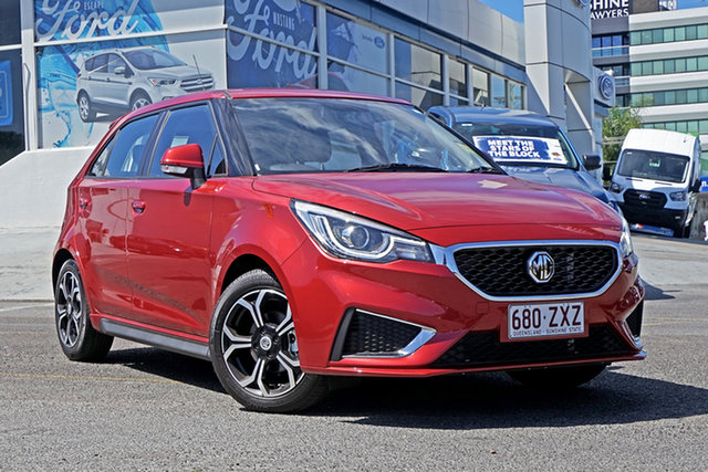 Demo MG MG3 SZP1 MY20 Excite, 2020 MG MG3 SZP1 MY20 Excite Red 4 Speed Automatic Hatchback