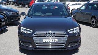 2016 Audi A4 B9 8W MY17 Sport S Tronic Quattro Blue 7 Speed Sports Automatic Dual Clutch Sedan.