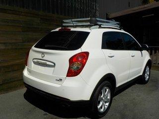2013 Ssangyong Korando C200 SX White 6 Speed Automatic Wagon.