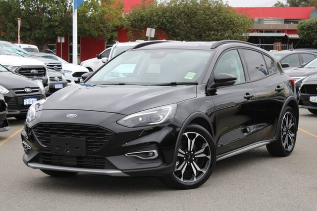 Used Ford Focus SA 2019.25MY Active, 2019 Ford Focus SA 2019.25MY Active Black 8 Speed Automatic Hatchback