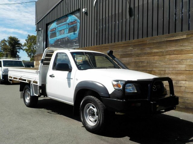 Used Mazda BT-50 UNY0E4 DX, 2008 Mazda BT-50 UNY0E4 DX White 5 Speed Manual Cab Chassis