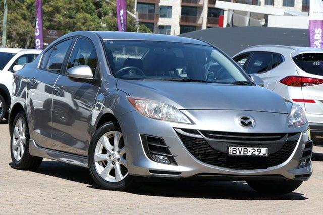 Used Mazda 3 BL 10 Upgrade Diesel, 2010 Mazda 3 BL 10 Upgrade Diesel Silver 6 Speed Manual Sedan
