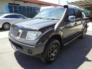 2009 Nissan Navara D40 ST-X (4x4) Grey 5 Speed Automatic Dual Cab Pick-up.