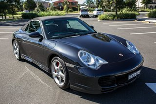 2004 Porsche 911 996 MY04 Carrera 4S AWD Cabriolet Grey 5 Speed Sports Automatic Convertible.
