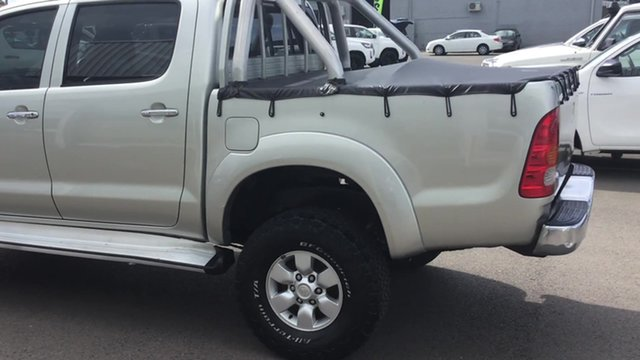 Used Toyota Hilux GGN25R MY07 SR5, 2006 Toyota Hilux GGN25R MY07 SR5 Gold 5 Speed Manual Utility