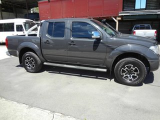 2009 Nissan Navara D40 ST-X (4x4) Grey 5 Speed Automatic Dual Cab Pick-up