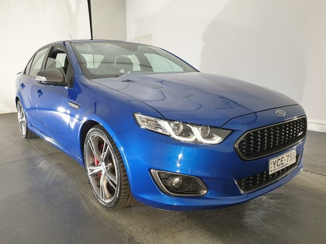 Used Ford Falcon FG X XR8, 2015 Ford Falcon FG X XR8 Blue 6 Speed Sports Automatic Sedan
