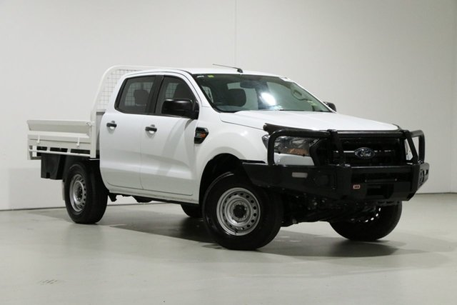 Used Ford Ranger PX MkII XL 3.2 (4x4), 2016 Ford Ranger PX MkII XL 3.2 (4x4) White 6 Speed Manual Crew Cab Chassis