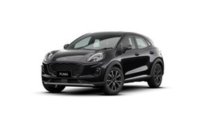 2020 Ford Puma JK 2020.75MY Puma Agate Black Metallic 7 Speed Sports Automatic Dual Clutch Wagon.