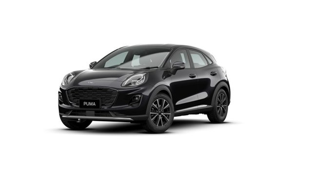 New Ford Puma JK 2020.75MY Puma Springwood, 2020 Ford Puma JK 2020.75MY Puma Black 7 Speed Sports Automatic Dual Clutch Wagon
