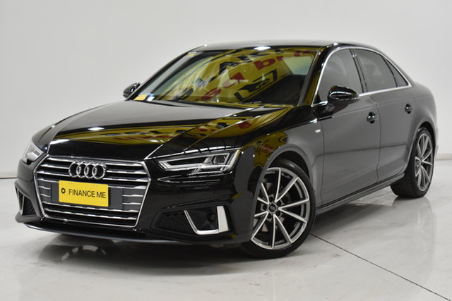 Used Audi A4 B9 8W MY19 35 TFSI S Tronic S Line Brooklyn, 2019 Audi A4 B9 8W MY19 35 TFSI S Tronic S Line Black 7 Speed Sports Automatic Dual Clutch Sedan