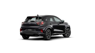 2020 Ford Puma JK 2020.75MY ST-Line Agate Black 7 Speed Sports Automatic Dual Clutch Wagon