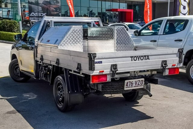 Used Toyota Hilux TGN121R Workmate 4x2, 2015 Toyota Hilux TGN121R Workmate 4x2 Grey 5 Speed Manual Cab Chassis