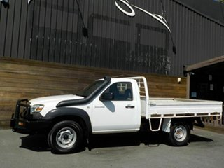 2008 Mazda BT-50 UNY0E4 DX White 5 Speed Manual Cab Chassis