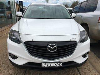 2015 Mazda CX-9 TB Series 5 Luxury White Sports Automatic.