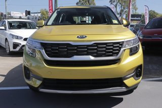 2020 Kia Seltos SP2 MY20 Sport 2WD Starbright Yellow 1 Speed Constant Variable Wagon.