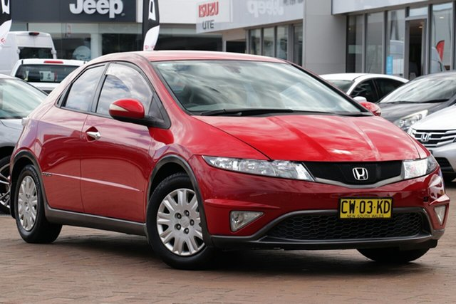 Used Honda Civic 8th Gen MY11 SI, 2011 Honda Civic 8th Gen MY11 SI Red 5 Speed Automatic Hatchback