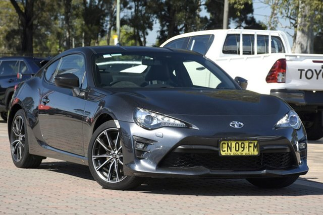 Used Toyota 86 ZN6 GTS, 2017 Toyota 86 ZN6 GTS Charcoal 6 Speed Sports Automatic Coupe
