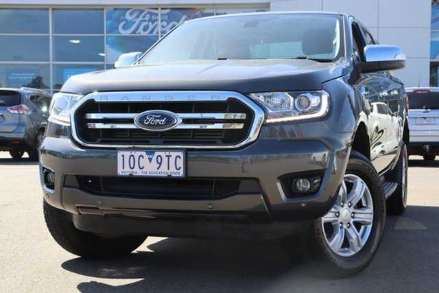 Used Ford Ranger PX MkIII 2019.00MY XLT Hi-Rider, 2018 Ford Ranger PX MkIII 2019.00MY XLT Hi-Rider Grey 10 Speed Sports Automatic Utility