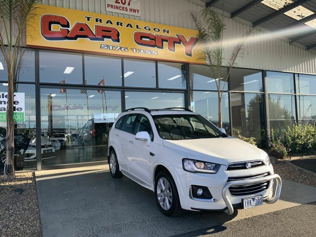 Used Holden Captiva CG MY15 5 LTZ (AWD), 2016 Holden Captiva CG MY15 5 LTZ (AWD) White 6 Speed Automatic Wagon