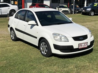 2006 Kia Rio JB White 5 Speed Manual Hatchback.