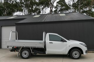 2020 Mazda BT-50 UR0YG1 XT 4x2 Hi-Rider Cool White 6 Speed Manual Cab Chassis.